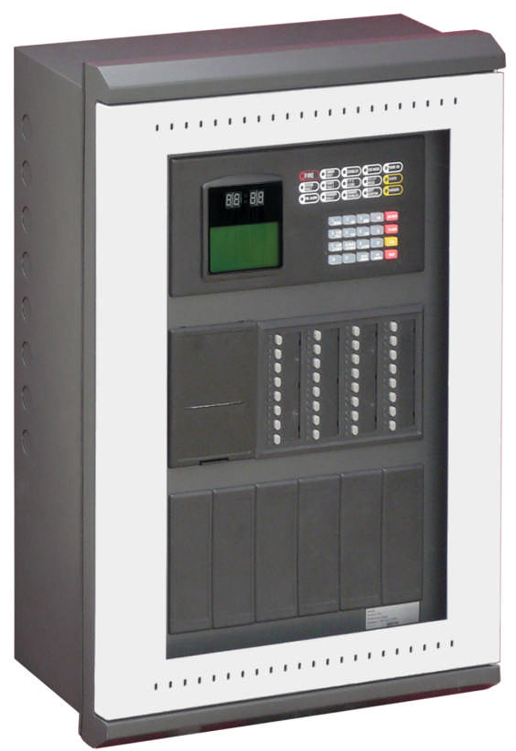 Gst200 2 Addressable Fire Alarm Control Panel Fire Projects