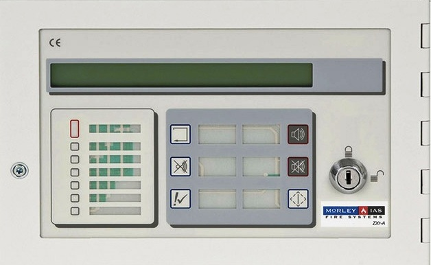 Morley IAS Repeater Fire Alarm Control Panel