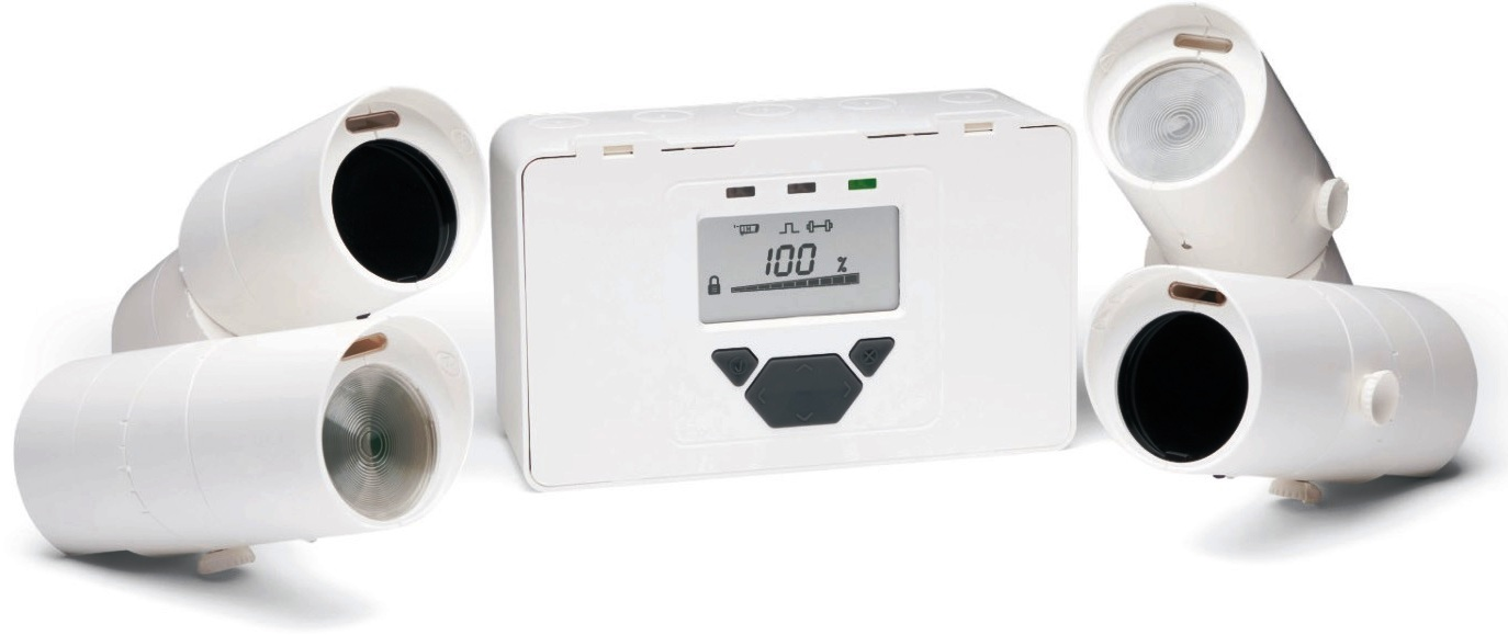 FireRay Beam Detector-3000 - Infrared Beam Smoke Detector